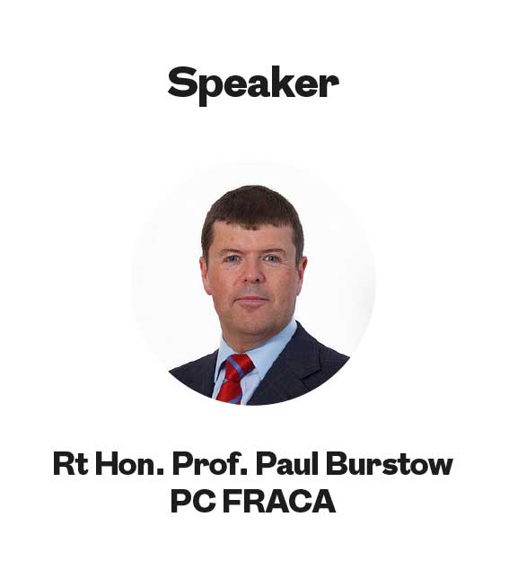 Rt Hon. Prof. Paul Burstow PC FRACA